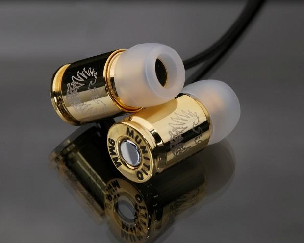 Teknines Nine Millimeter Earphones: наушники, способные снести башню