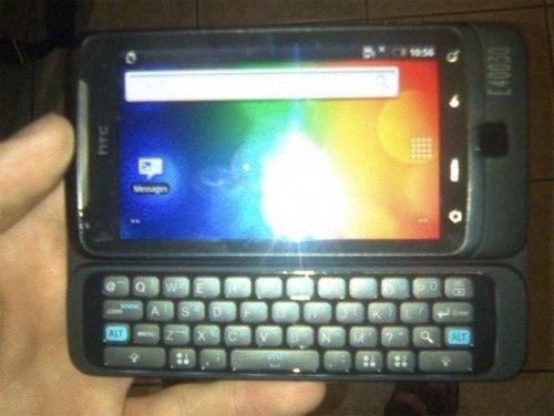 HTC Vision: ОС Android, физическая QWERTY-клавиатура