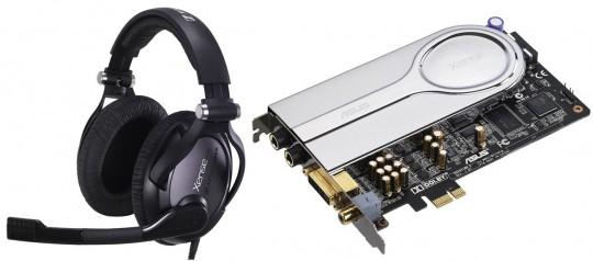 Звуковая карта ASUS Xonar Xense + наушники Sennheiser PC350 = идеальный звук для игр