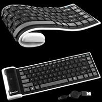Гибкая Bluetooth-клавиатура
