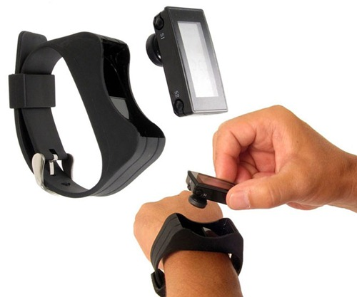 Bluetooth Wristwatch Headset2