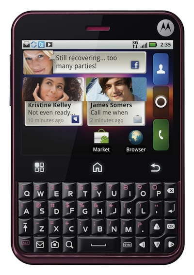 CHARM  – новый смартфон от Motorola