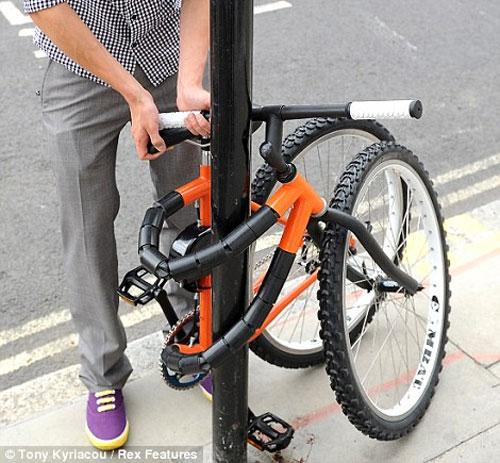 Противоугонный гибкий велосипед от Кевина Скотта