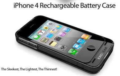Футляр с батареей для iPhone 4