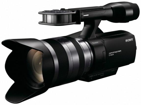 Sony представляет первую потребительскую камеру со сменной оптикой