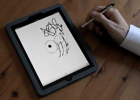 Планшетник iPad хотят сделать графическим планшетом