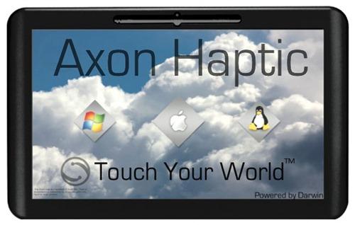 Axon Logic Haptic – планшетник, работающий под MacOS X