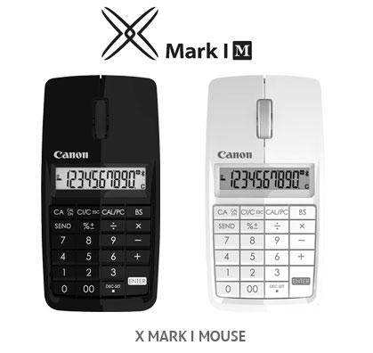 Canon X Mark I – беспроводная мышь с интегрированной числовой панелью