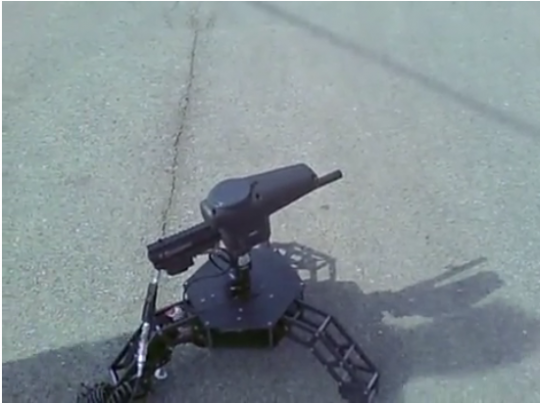 Robotic Paintball Gun Sentry – судный день уже близко