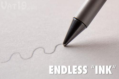 Практически вечная металлическая ручка Inkless Metal Pen