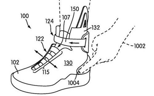 Кроссовки Nike, которые застегиваются сами