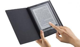 Sony работает над читалками с сенсорным экраном