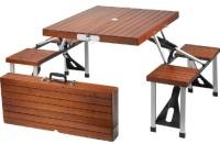 Раскладной стол на четверых