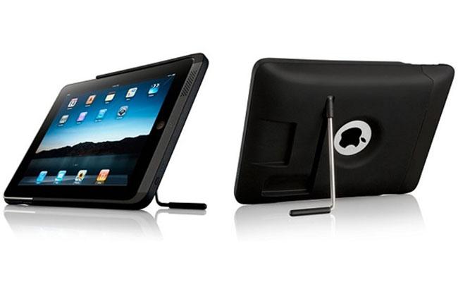 Кейс Kensington PowerBack: внешняя батарея и подставка для iPad