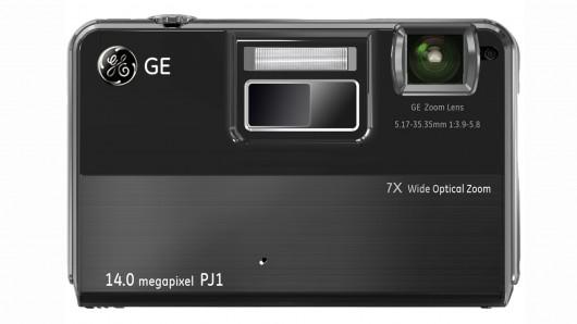 GE PJ1 – камера со встроенным пико-проектором от General Imaging
