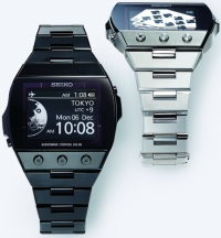 Часы с E-Ink экраном от Seiko