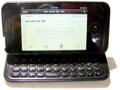 NUU Mini Key превратит iPhone в слайдер с физической клавиатурой