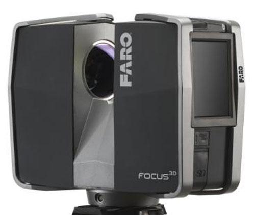 Faro Focus3D: самый компактный 3D-сканнер