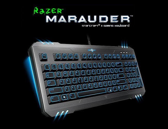 Игровое оборудование в стиле Starcraft 2 от Razer