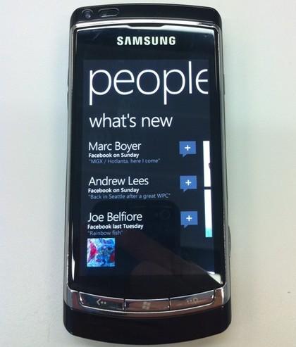 Встречайте: Windows Phone 7