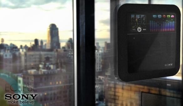 Концепт медиаплеера на солнечной батарее Sony Eclipse