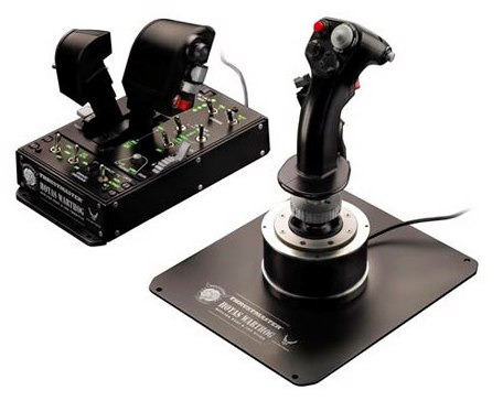 Контроллер для летных симуляторов HOTAS Warthog от Thrustmaster
