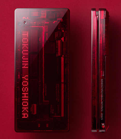 Прозрачный мобильный телефон iida X-Ray