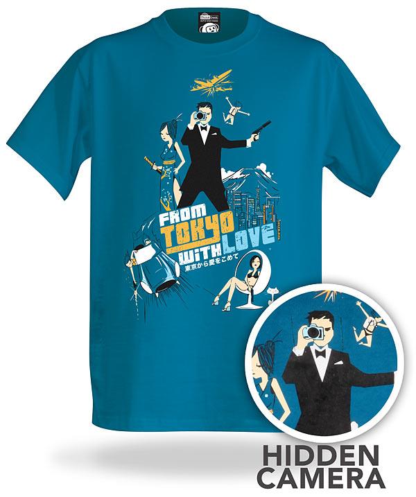 Electronic Spy Camera Shirt или повседневный стиль Джеймса Бонда