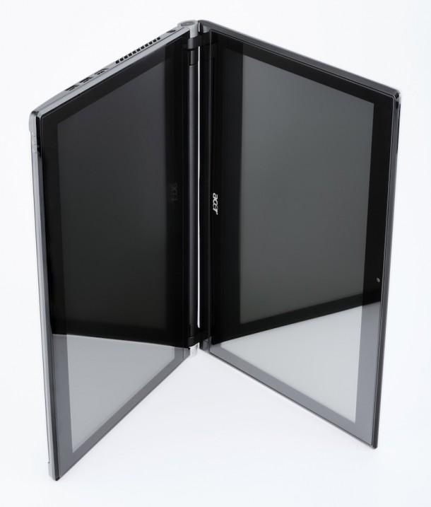 Ноутбук с двумя экранами от Acer