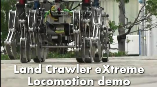 Land Crawler exTreme: 12 ног, несущие 80 килограммов