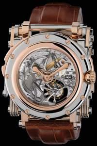 Золотые музыкальные механические часы Voltaire за 1,2 миллиона долларов