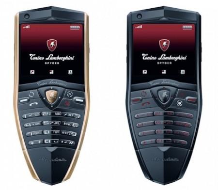 Роскошные телефоны серии Spyder Series от Tonino Lamborghini