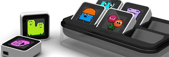 Будущее игрушек: умные кубики Sifteo Cubits