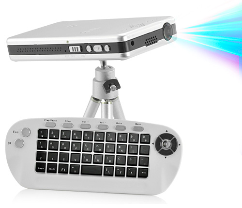 Компактный LED-проектор со встроенным модулем Wi-Fi