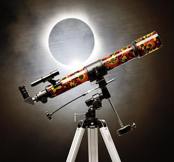 Дизайнерские телескопы для гиков, интересующихся астрономией