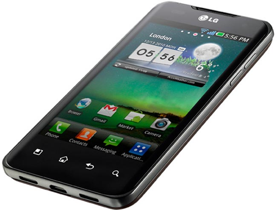 LG Optimus 2X – двухъядерный Android-смартфон