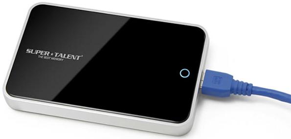 Производительный внешний жесткий диск от Super Talent с интерфейсом USB 3.0