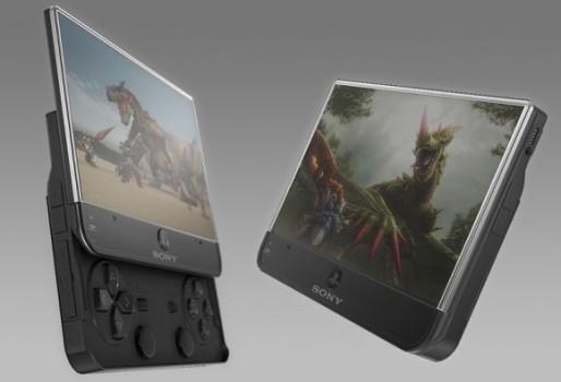 Новая приставка Sony PSP будет с сенсорным экраном?