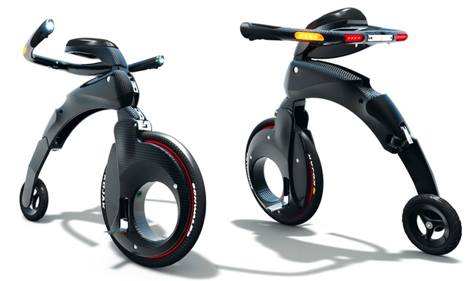 Электрический складной велосипед Yike Bike