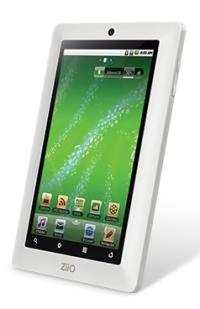Планшетный компьютер с сенсорным экраном Creative Ziio 7 поступил в продажу
