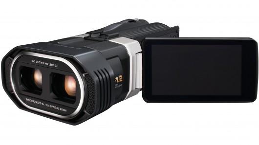 JVC представляет 3D-камкордер с поддержкой full HD