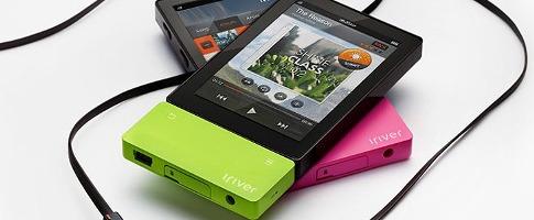 Компания iRiver представила цифровой аудиоплеер нового поколения
