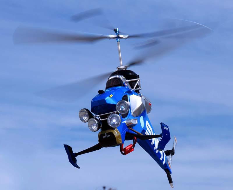 Радиоуправляемый вертолет ID1-SWAT разбудит ребенка в любом взрослом