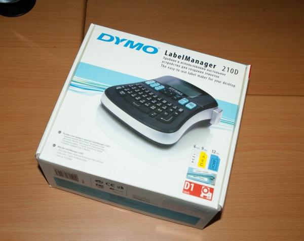 Обзор ленточного принтера DYMO LabelManager 210D
