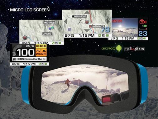 GPS-очки от Recon