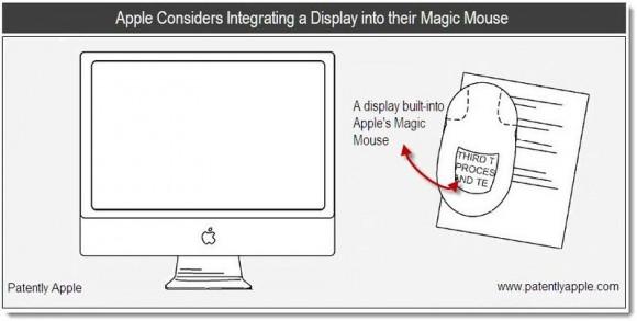 Apple хочет снабдить Magic Mouse дисплеем и работает над виртуальной клавиатурой