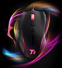 Компания Tt eSports представила мышь Black Element для любителей стратегий и ММО