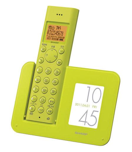 Стационарные телефоны от Sharp: перевоплощение классики