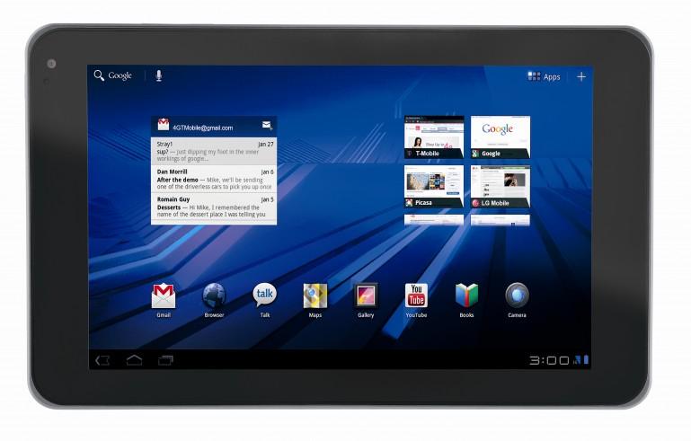 G-Slate – планшетник под Android 3.0 от LG
