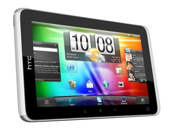 Анонсирован планшетник HTC Flyer